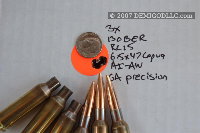 6 5mm Shootout:  260 Remington vs  6 5x47 Lapua vs  6 5