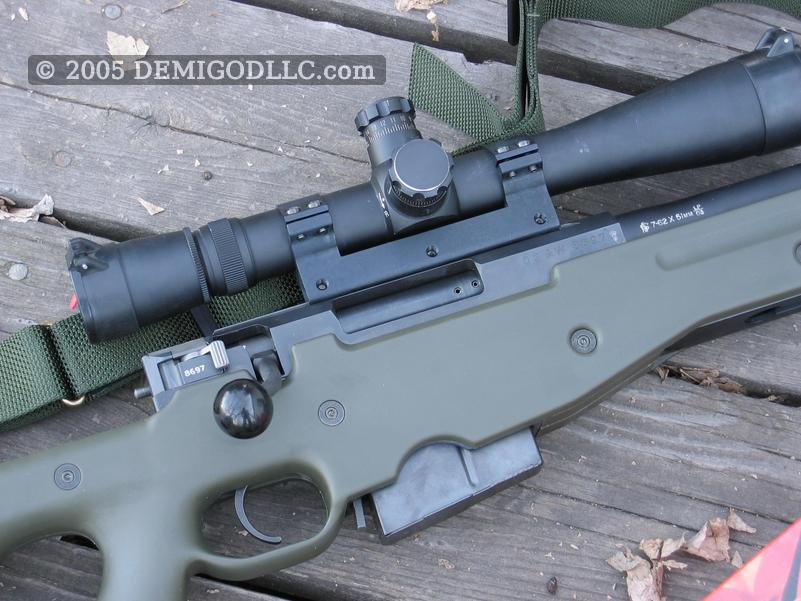 Accuracy International Arctic Warfare rifle, caliber 308WIN