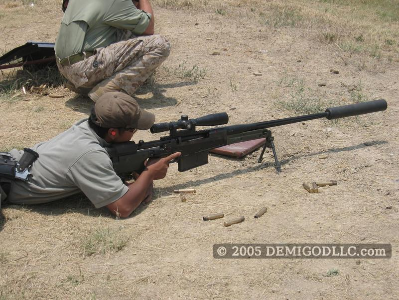 mcmillan tac 50. The AW50 is a nice rifle,