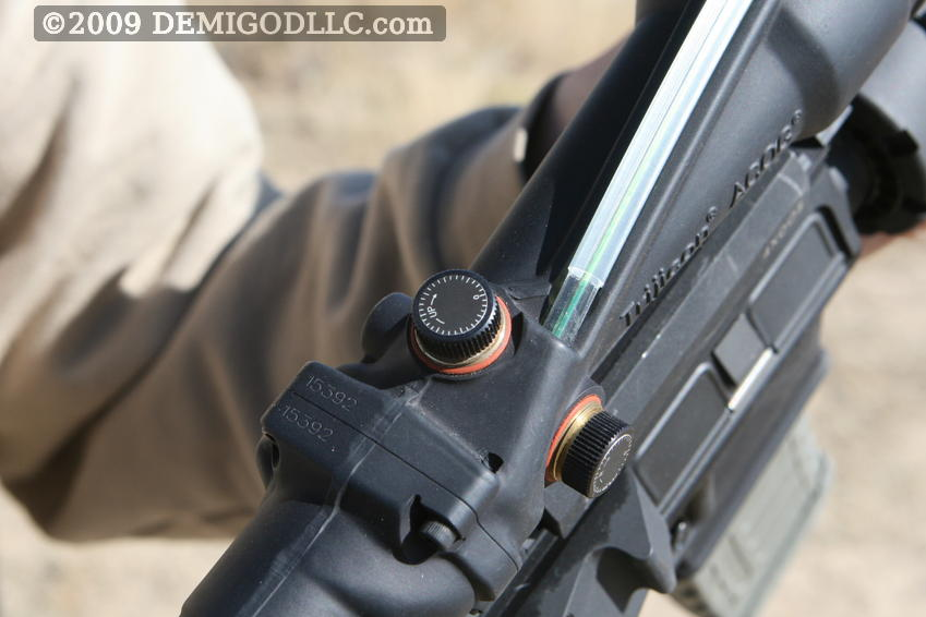 First Look at Trijicon's new TA11 with Green Horse-Shoe ...